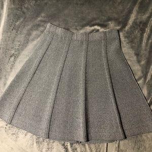 NWOT Grey Zara sweater skirt